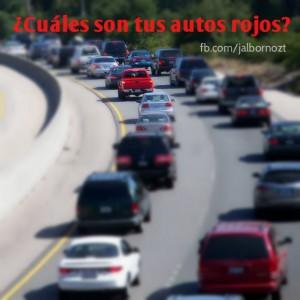 Enfoque y Autos Rojos