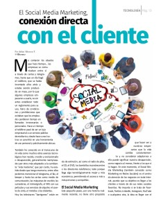 Social Media Marketing, Conexión directa con el cliente